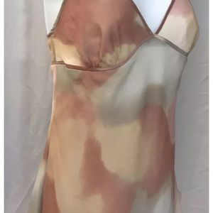 theory silk Babydoll Camisole L Large New NWT $175
